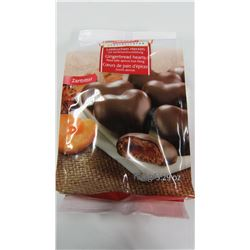 WEISS DARK CHOCOLATE GINGERBREAD FILLED CHOCOLATES - PER PKG