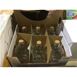 Case of Skull Bottles with Cork (760mL)