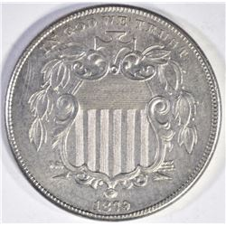 1879 PROOF SHIELD NICKEL CH/GEM PF