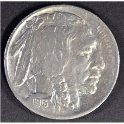 1913-S TYPE 2 BUFFALO NICKEL AU KEY DATE