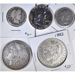MIXED US COIN LOT
