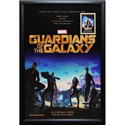 Guardians of the Galaxy Signed Movie Poster