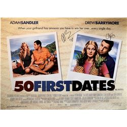 50 First Dates Signed Movie Poster