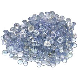 22.15 ctw Round Mixed Tanzanite Parcel