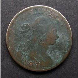 1803 DRAPPED BUST LARGE CENT AG/G