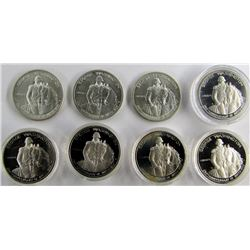 8-1982 GEORGE WASHINGTON HALF DOLLAR COMMEMS