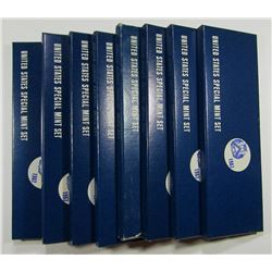 8- 1967 GOVERNMENT ISSUED SMS BOXSET