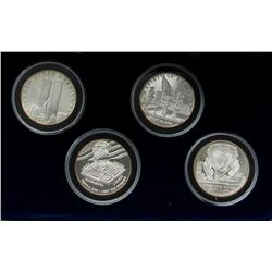 4 - .999 SILVER 1oz SEPT 11, 2001  PROOFS