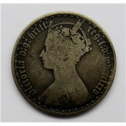 QUEEN VICTORIA 1/10 OF A POUND ONE FLORIN (1848-18