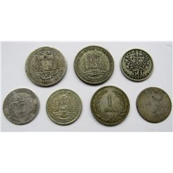 7-FOREIGN COIN LOT