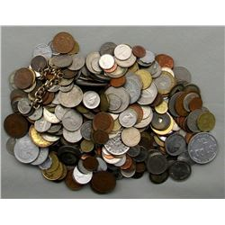 5 LB BAG OF FOREIGN COINS