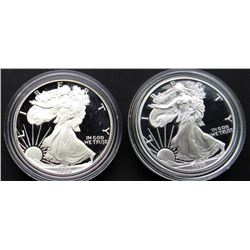 1986 & 1997 PROOF AM SILVER EAGLES
