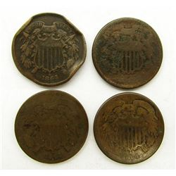 4 - 1864 TWO CENT PIECE