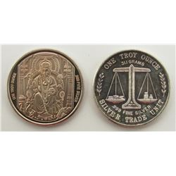 2- .999 SILVER ROUNDS