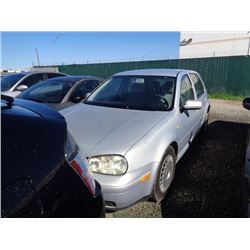 VW GOLF 2000 T-DONATION