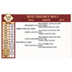 RED TRILOGY 8013