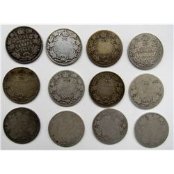 12 - EARLY DATE CANADA QTRS -