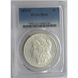 1979-S PCGS MS62 Morgan Silver Dollar $
