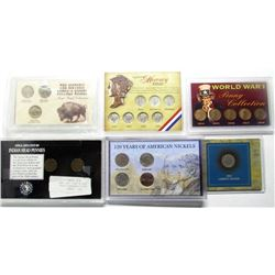 TRIBUTE SETS: MERCURY DIMES, WWII,