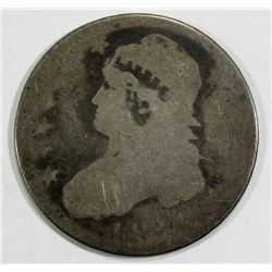 1800's PARTIAL DATE CAPPED BUST HALF DOLLAR AG