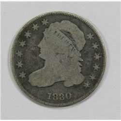 1830 CAPPED BUST DIME- GOOD