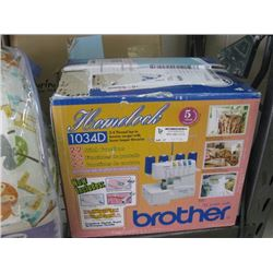 BROTHER HOMELOCK 1034D