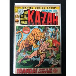 KA-ZAR #9 (MARVEL COMICS)