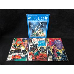 WILLOW COMIC BOOK LOT (MARVEL COMICS)