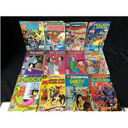 COMIC BOOK LOT (TOM & JERRY/ GHOSTLY WHIZ/ DAZZLER...)