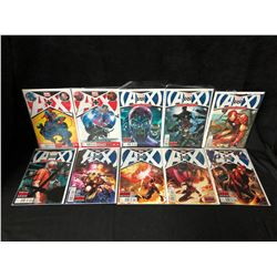 AVENGERS VS. X-MEN COMIC BOOK LOT (MARVEL COMICS)