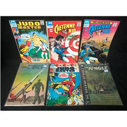 COMIC BOOK LOT (JUDO MASTER/ CHEYENNE KID)