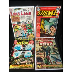 COMIC BOOK LOT (LOIS LANE/ SGT. ROCK/ STRANGE ADVENTURES)