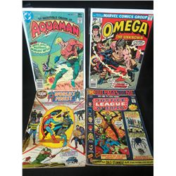 COMIC BOOK LOT (AQUAMAN/ OMEGA...)