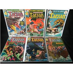 TARZAN COMIC BOOK LOT (MARVEL COMICS)