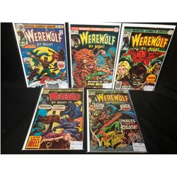 1970'S WEREWOLF BY NIGHT COMIC BOOK LOT (MARVEL COMICS)