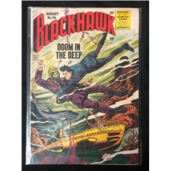 1956 BLACKHAWK #96 COMIC BOOK