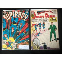 1960'S DC COMICS BOOK LOT (SUPERBOY #155/ JIMMY OLSEN #63)