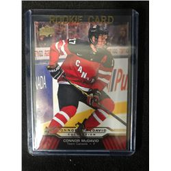 2015-16 Connor McDavid ROOKIE Card Upper Deck Collection #CM-25 Team Canada