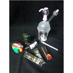 420 ACCESSORIES LOT (PIPE/ GRINDER...)