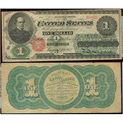 Series 1862 $1 note (lg. size)