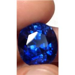 Natural Untreated Royal Blue Burma Sapphire 20 Ct -GRS