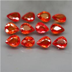 Natural Pear Red Sapphire 4.20 Cts