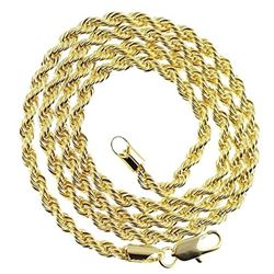 AWESOME 14 Kt. GOLD PLATED ROPE CHAIN