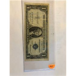 1935 F Series 1 dollar silver certificate