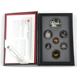 1991 Proof Coin Set Silver