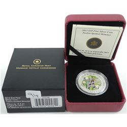 2013 .9999 Fine Silver $10.00 Coin 'Twelve Spotted