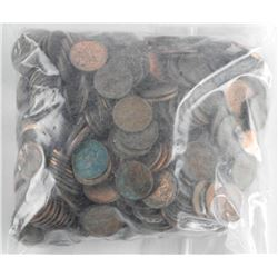 Estate - BAG Canada and US One Cent Coins