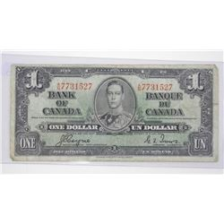 Bank of Canada 1937 $1.