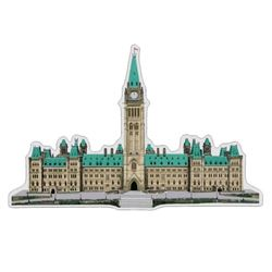 Real Shape Iconic Canada: Piece Pure Silver Piece