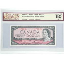 Bank of Canada 1964 One Thousand Dollar Note. Modi